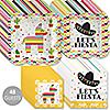 Let's Fiesta - Mexican Fiesta Tableware Plates and Napkins - Bundle for 48