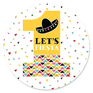 1st Birthday Let's Fiesta - Mexican Fiesta First Birthday Party Theme