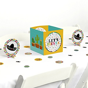 Let's Fiesta - Mexican Fiesta Centerpiece and Table Decoration Kit