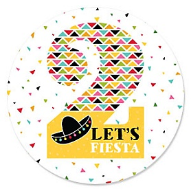 2nd Birthday - Let's Fiesta - Mexican Fiesta Second Birthday Party Theme