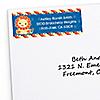 Lion Boy - Personalized Baby Shower Return Address Labels - 30 ct