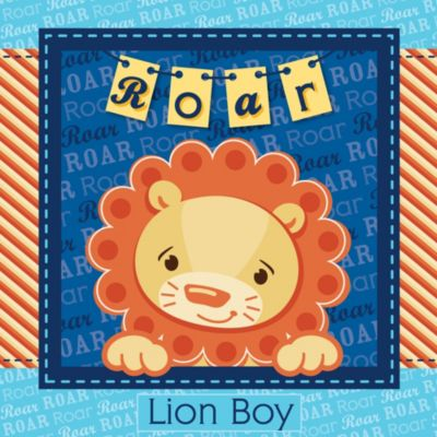 Lion Boy   Baby Shower Theme