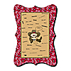 Little Cowboy - Unique Alternative Guest Book - Western Baby Shower or Birthday Party Signature Mat
