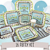 Dashing Little Man Mustache Party - 16 Person Party Kit