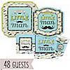 Dashing Little Man Mustache Party - Baby Shower 48 Big Dot Bundle