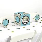 Dashing Little Man Mustache Party - Baby Shower Centerpiece & Table Decoration Kit