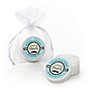 Dashing Little Man Mustache Party - Personalized Baby Shower Lip Balm Favors - Set of 12
