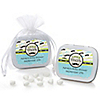 Dashing Little Man Mustache Party - Personalized Baby Shower Mint Tin Favors