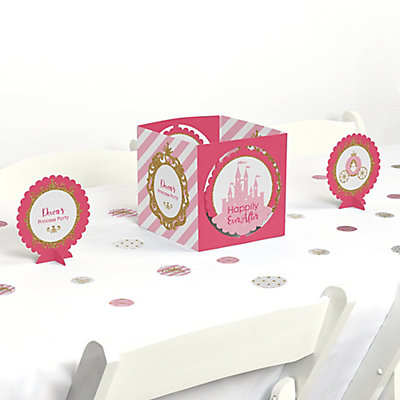 Little Princess Crown Pink And Gold Princess Baby Shower Or