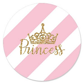 Little Princess Crown - Birthday Party Theme