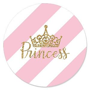 Little Princess Crown - Baby Shower Theme