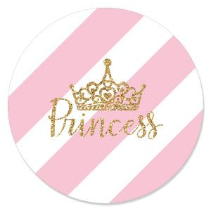 Little Princess Crown   Baby Shower Theme