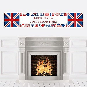 Cheerio, London - Personalized British UK Party Banner