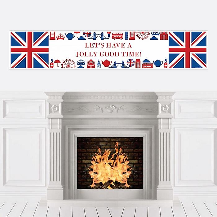 Cheerio, London - Personalized British UK Party Banner