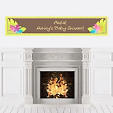 Luau - Personalized Baby Shower Banners