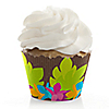 Luau - Bridal Shower Cupcake Wrappers & Decorations