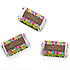 Luau - Personalized Bridal Shower Mini Candy Bar Wrapper Favors - 20 ct