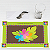 Luau - Personalized Bridal Shower Placemats