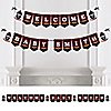 Lumberjack - Channel The Flannel - Personalized Buffalo Plaid Party Bunting Banner & Decorations