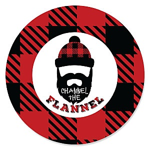 Lumberjack - Channel The Flannel - Baby Shower Theme