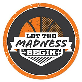 Basketball - Let the Madness Begin - Basketball Party Theme