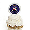 Magic - Personalized Birthday Party Cupcake Pick and Sticker Kit - 12 ct