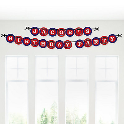 Magic Personalized Birthday Party Garland Letter Banner