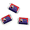 Magic - Personalized Birthday Party Mini Candy Bar Wrapper Favors - 20 ct
