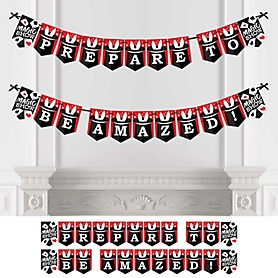 Ta-Da, Magic Show - Magical Party Bunting Banner - Party Decorations - Prepare to be Amazed