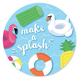 Make A Splash - Pool Party Theme