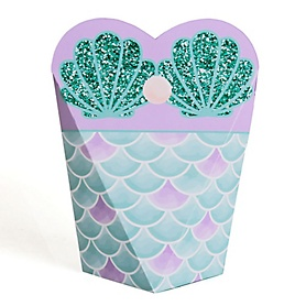 Trading The Tail For A Veil - Mermaid Bachelorette Party or Bridal Shower Favors - Gift Favor Boxes for Women - Set of 12
