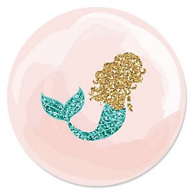 Let's Be Mermaids - Baby Shower or Birthday Party Theme