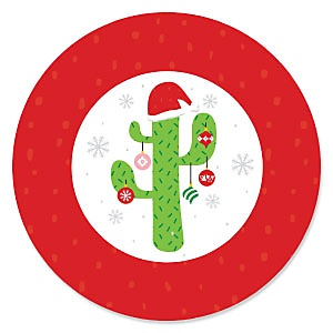 Merry Cactus - Christmas Cactus Party Theme
