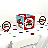 Merry Little Christmas Tree - Red Truck and Car Christmas Party Centerpiece and Table Decoration Kit