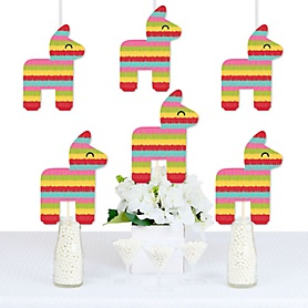 Let's Fiesta - Decorations DIY Mexican Fiesta Party Essentials - Set of 20
