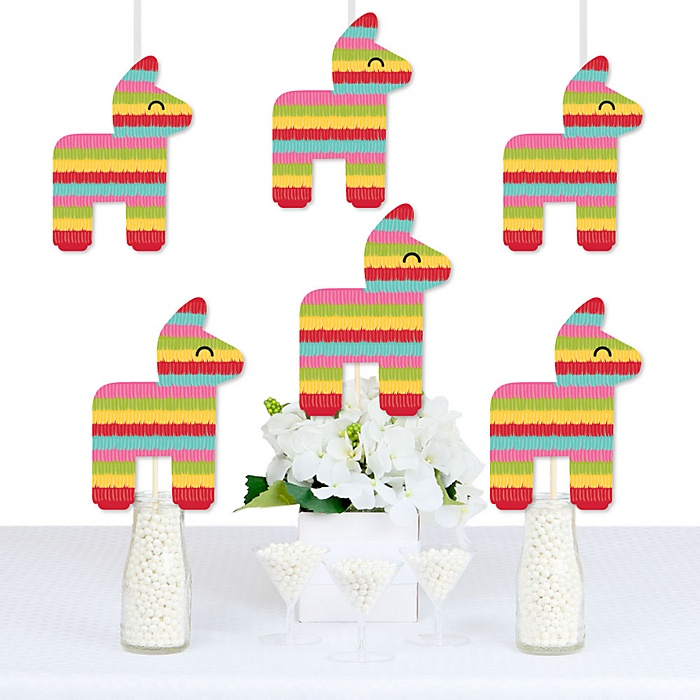 Let's Fiesta - Decorations DIY Mexican Fiesta Party Essentials - Set of 20