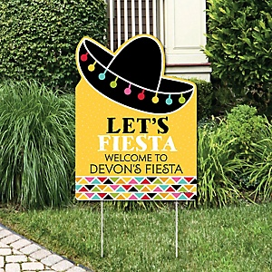 Let S Fiesta Mexican Fiesta Party Theme Bigdotofhappiness Com