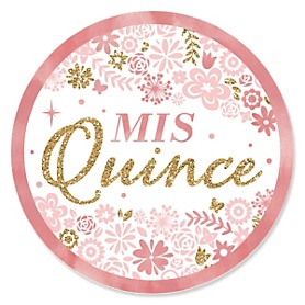Mis Quince Anos - Quinceanera Sweet 15 Birthday Party Theme
