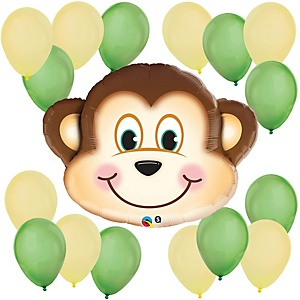 Mischievous Monkey - Baby Shower Balloon Kit