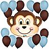 Mischievous Monkey Boy - Birthday Party Balloon Kit