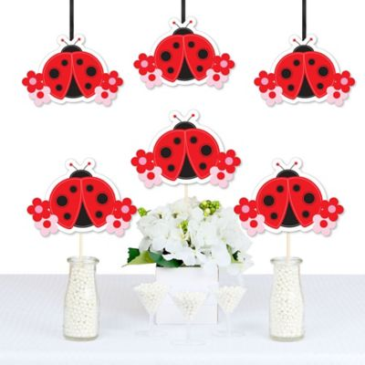 Modern Ladybug   Decorations DIY Baby Shower Or Birthday Party Essentials    Set Of 20