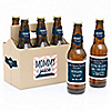 Mommy's Time-Out - 6 Beer Bottle Label and 1 Carrier Gifts for Mom