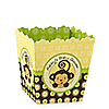 Monkey Neutral - Personalized Baby Shower Candy Boxes
