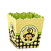 Monkey Neutral - Personalized Birthday Party Candy Boxes