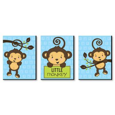 monkey boy baby shower decorations theme babyshowerstuff com rh babyshowerstuff com