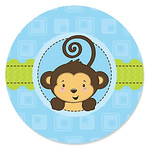 Monkey Boy - Baby Shower Theme