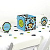 Blue Monkey Boy - Birthday Party Centerpiece & Table Decoration Kit