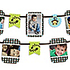 Blue Monkey Boy - Birthday Party Photo Garland Banners