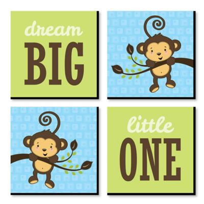 Monkey Boy Baby Shower Decorations Theme BabyShowerStuffcom