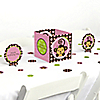 Pink Monkey Girl - Birthday Party Centerpiece & Table Decoration Kit